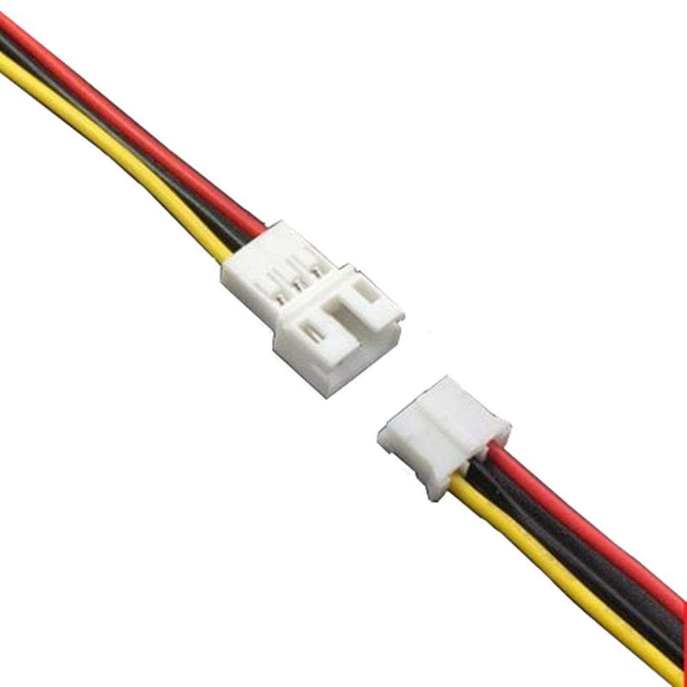 rc-quadcopter-parts 10Pcs DIY Mini PH2.0mm 2PIN/3PIN/4PIN/5PIN/6PIN 10CM Male Female JST Connector Terminal Plug Cable Wire 20mm for RC Model Battery HOB1661165 3