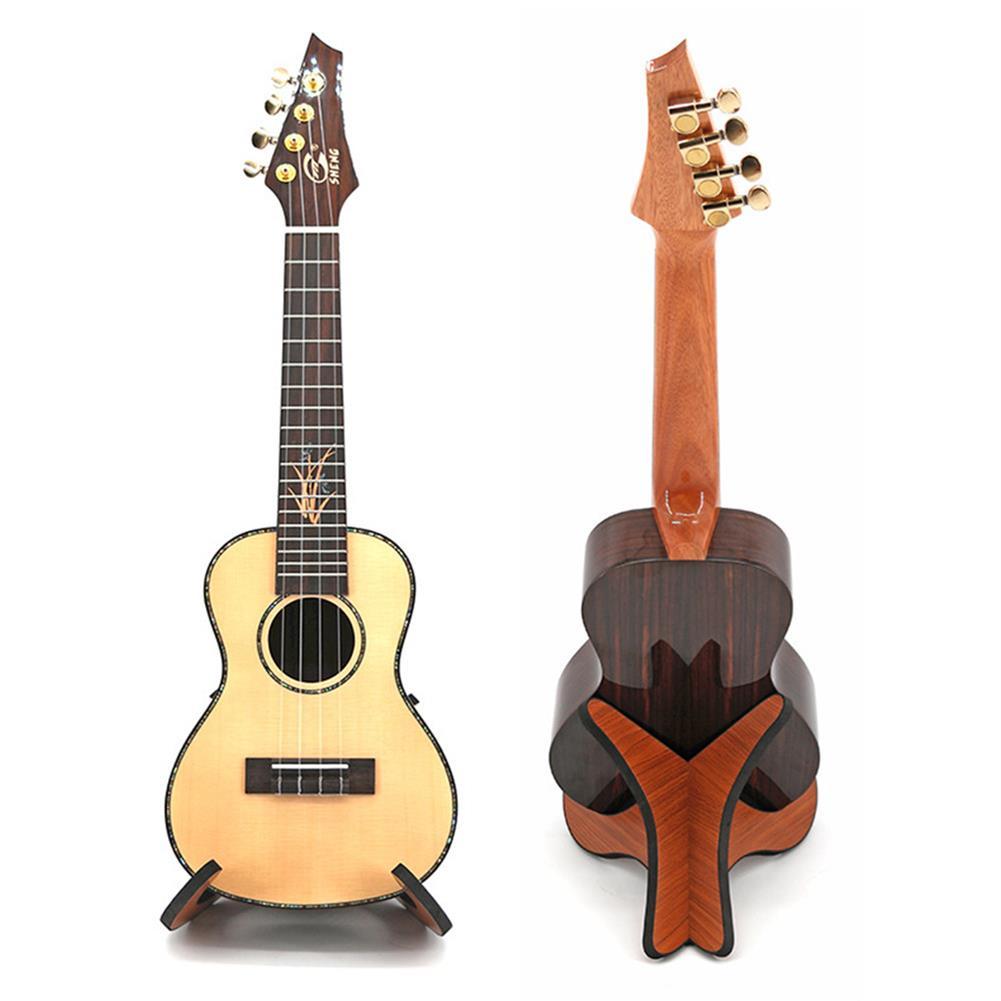 guitar-accessories Portable Wooden Foldable Holder Stand Suitable for Guitar Ukulele Violin Mandolin Banjo HOB1661468