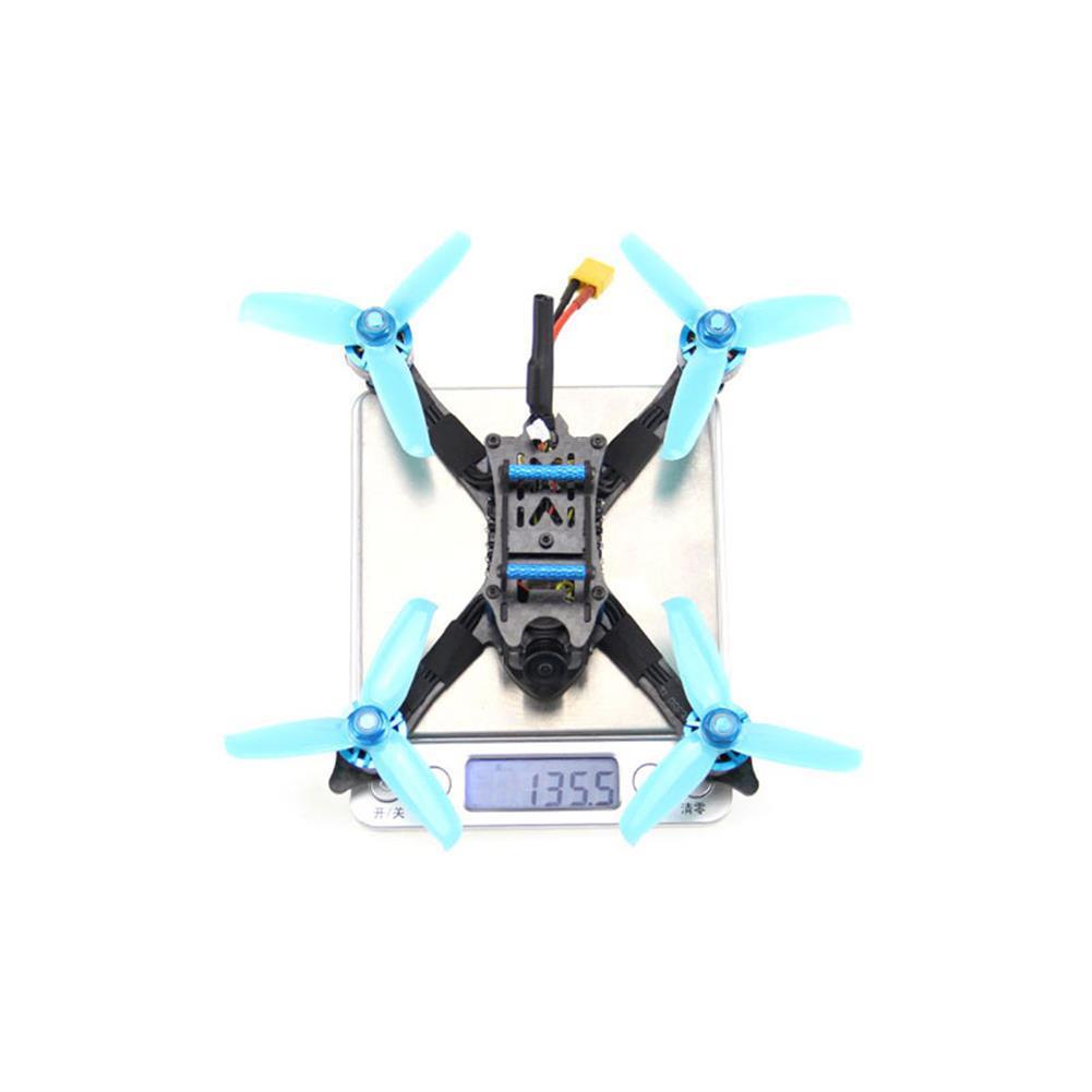 fpv-racing-drone HGLRC XJB-145MM V1.2 3 inch 3-4S FPV Racing Drone PNP/BNF F4 Mini FC 35A ESC 1407 3600KV Motor RunCam Nano 2 Camera HOB1661531 3