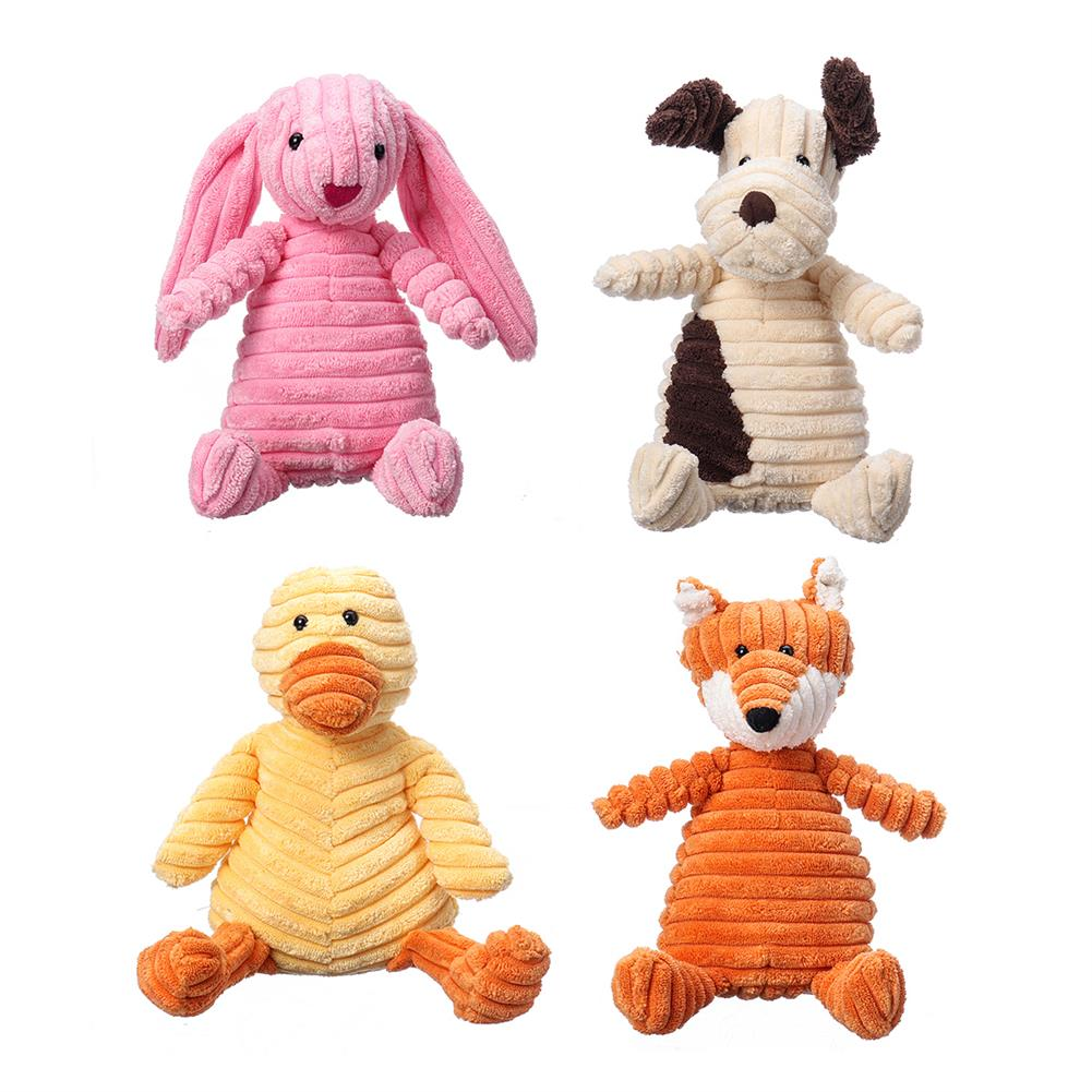 stuffed-plush-toys 23CM Funny Soft Pet Puppy Chew Play Squeaker Squeaky Cute Stuffed Plush Toy HOB1662065