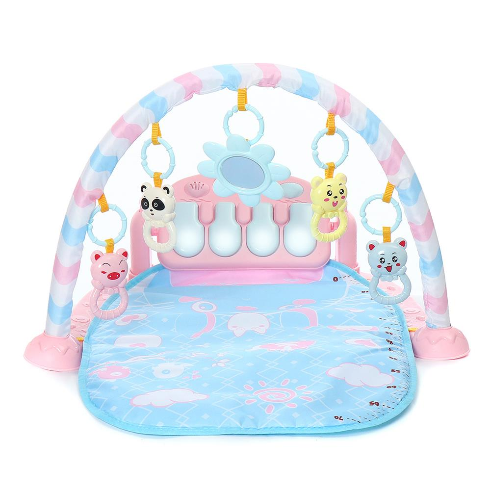 orff-instruments 3-in-1 Cute Rainforest Musical Lullaby Baby Activity Playmat Gym Toys Play Mat HOB1662150