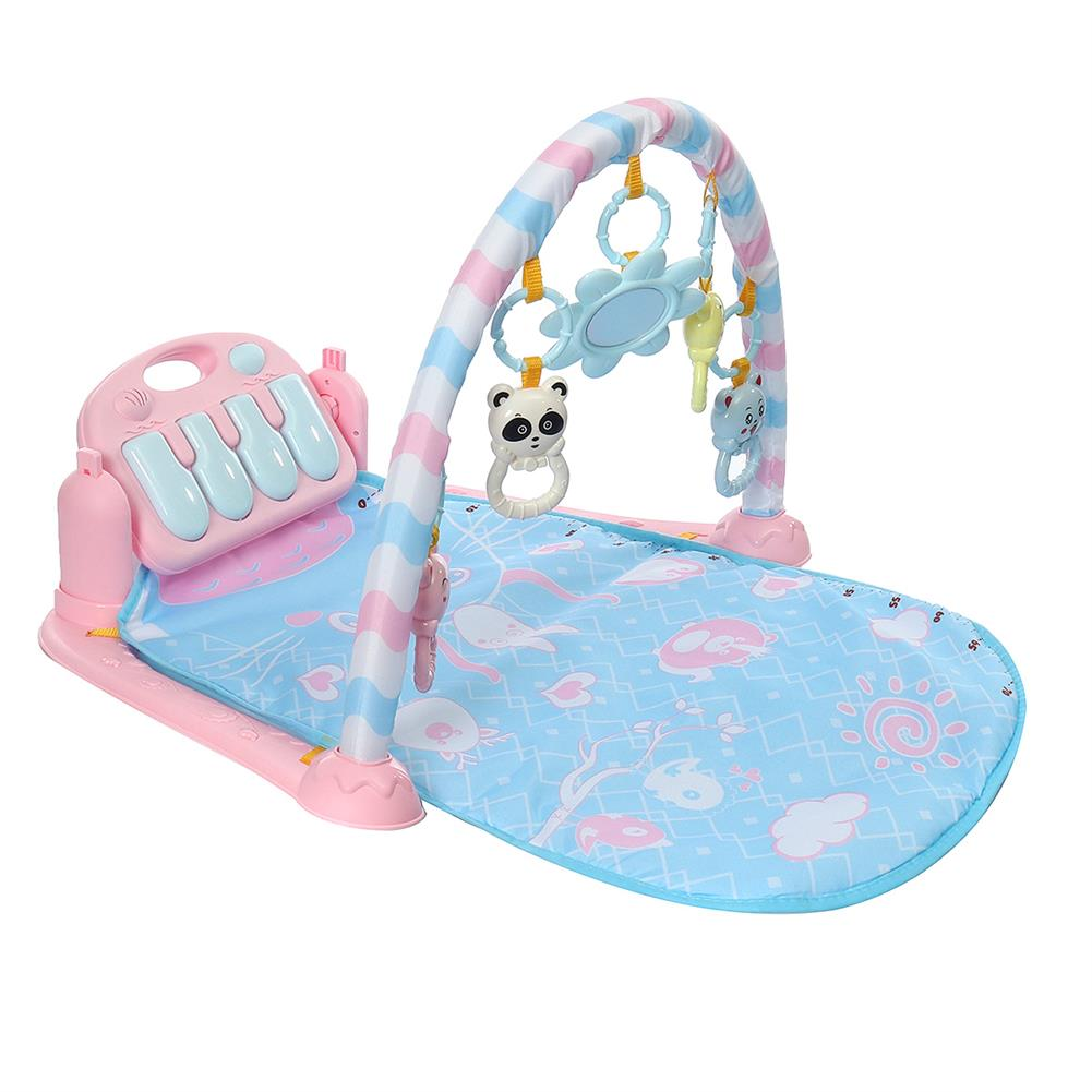orff-instruments 3-in-1 Cute Rainforest Musical Lullaby Baby Activity Playmat Gym Toys Play Mat HOB1662150 1