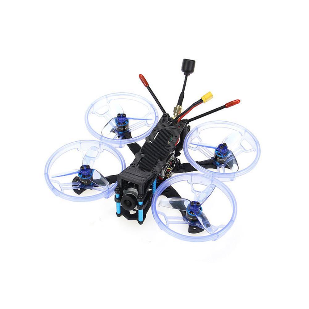 fpv-racing-drone HGLRC Sector132 HD 132mm 4S FPV Racing RC Drone DJI Air Unit Version Zeus35 AIO Flight Controller HOB1662555 1