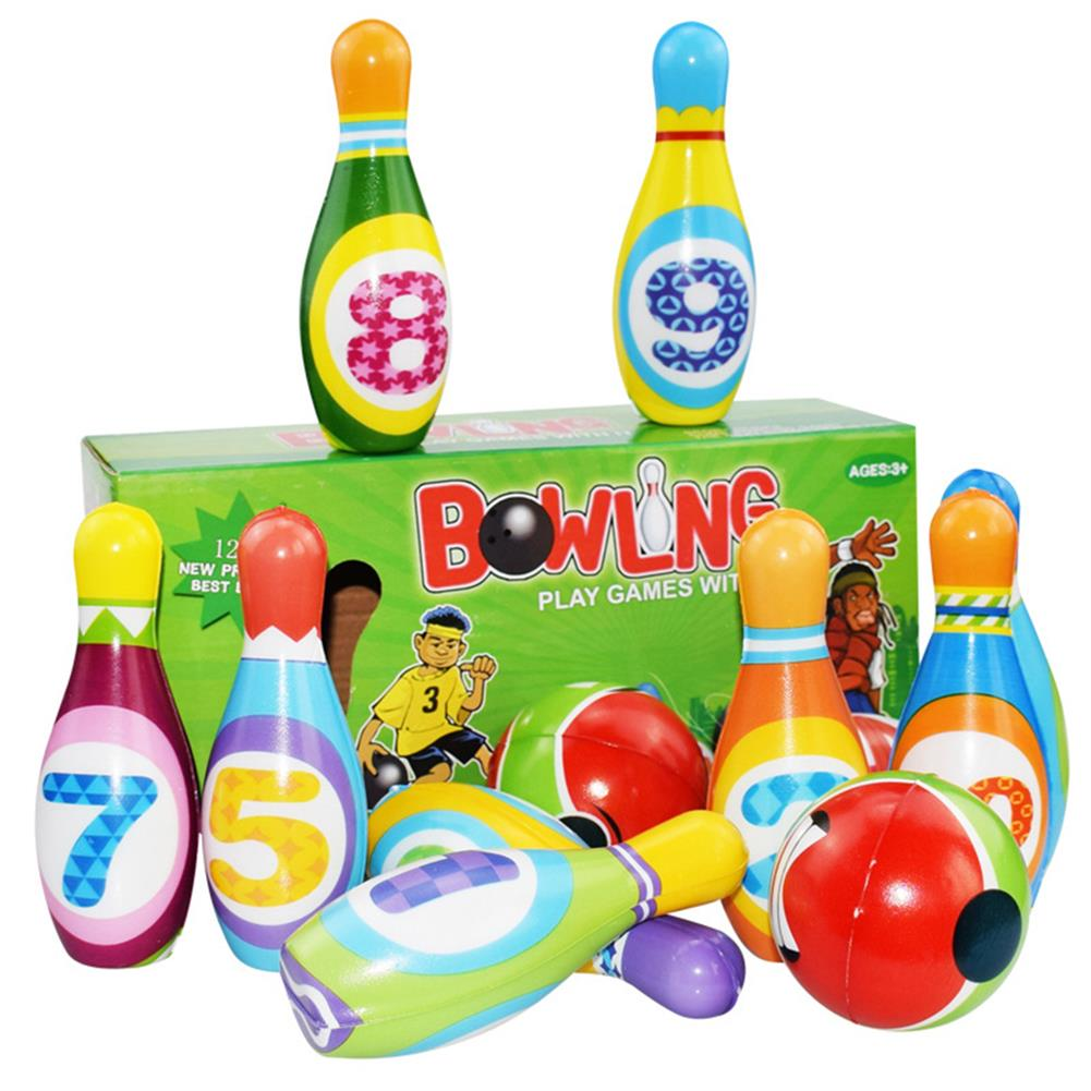 puzzle-game-toys Bowling Balls Set PU Safe Fun Educational Toys indoor Toys for Kids Gift HOB1663251 1