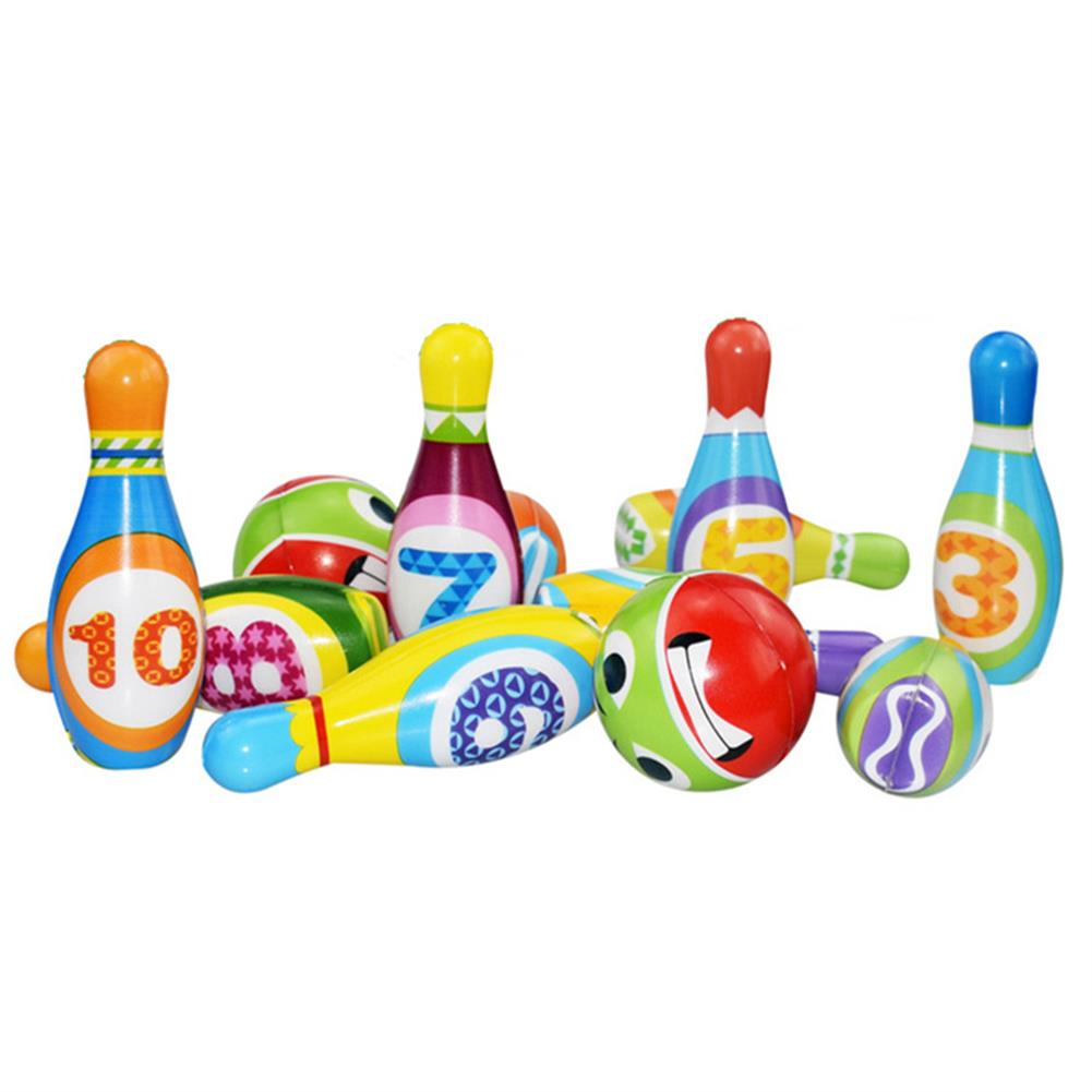 puzzle-game-toys Bowling Balls Set PU Safe Fun Educational Toys indoor Toys for Kids Gift HOB1663251 3