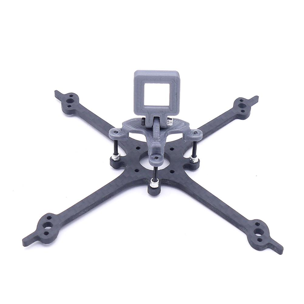 multi-rotor-parts FONSTER Apro 125mm 3 inch X Type Toothpick Frame Kit 16x16mm / 25.5x25.5mm Mounting Hole compatible Runcam Nano 3 14.6g HOB1663359 2