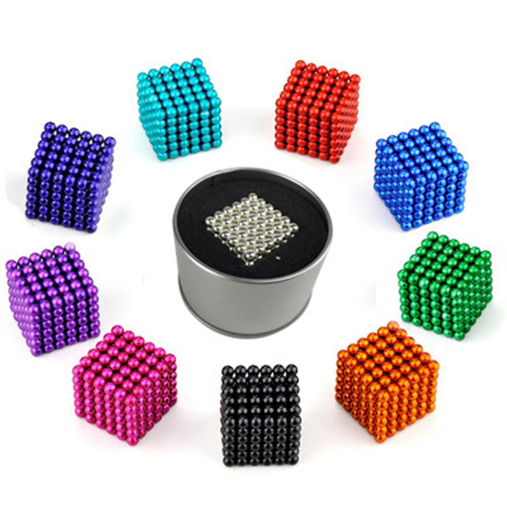 magnetic-toys 1000PCS 3mm Cube Buck Ball Mixcolour Magnetic Toys Neodymium N35 Magnet indoor Toys HOB1664078