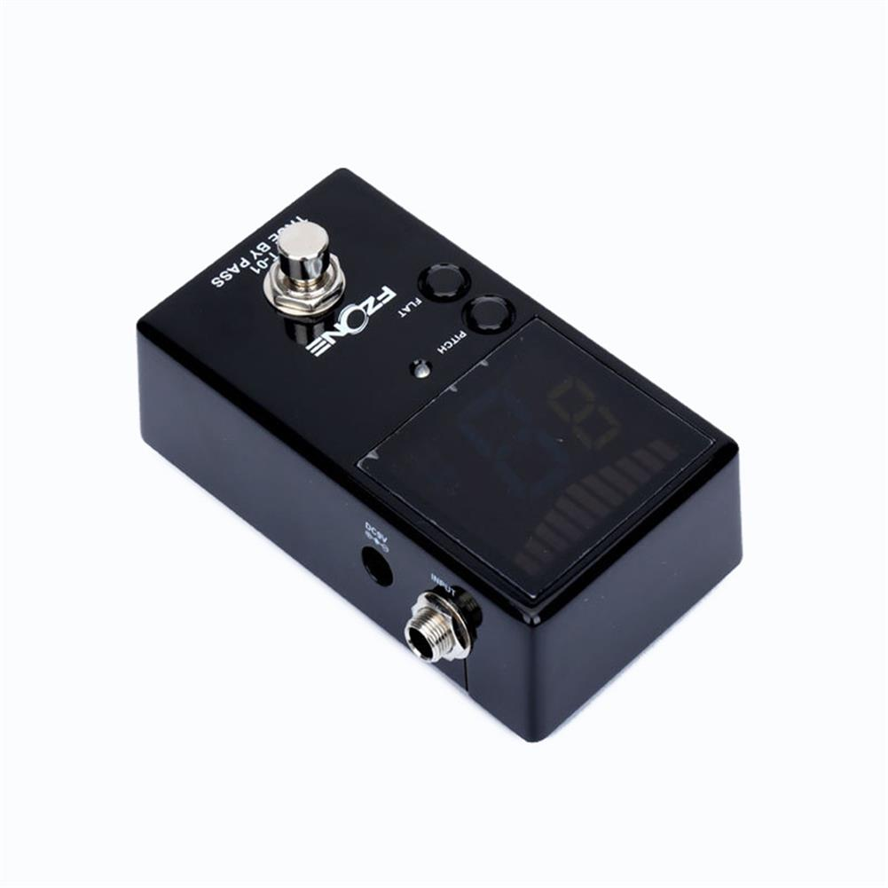 guitar-accessories FZONE LED Digital Display Electric Guitar Effects Pedal True Bypass Sensitive Tuning with Pitch and Flat HOB1664154 1