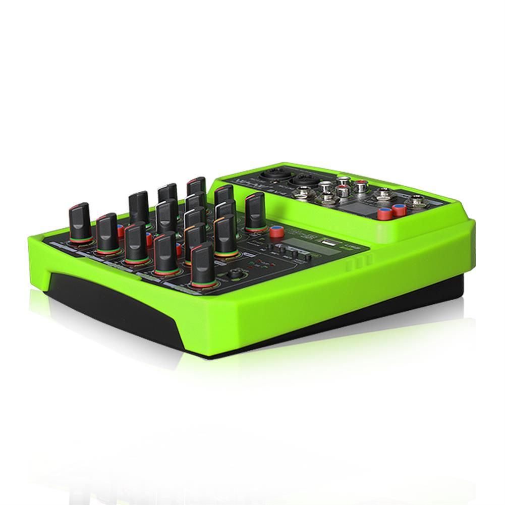 dj-mixers-equipment WENYANWEN Mini 2 Channel USB Delay and Repeat Efferts Audio Mixer Console with Bluetooth HOB1665021 1