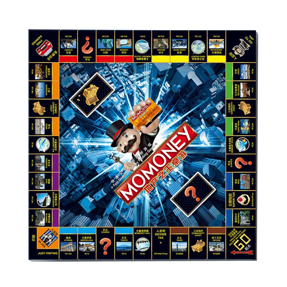 puzzle-game-toys Large Luxury Childrens Estate Credit Card Machine Tycoon Classic Board Game Toy HOB1665375 3