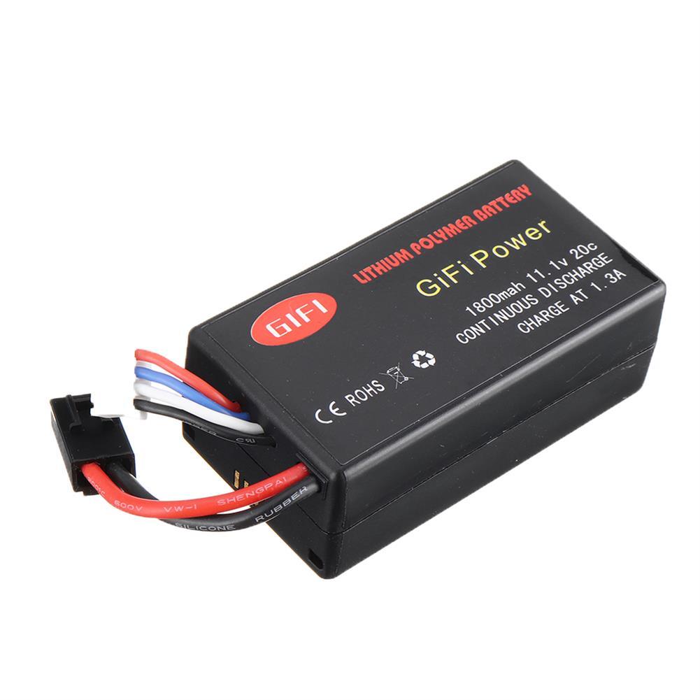 rc-quadcopter-parts GiFi Power Upgrade 11.1V 20C 1800mAh Li-po Battery for Parrot AR Drone 2.0 HOB1665379