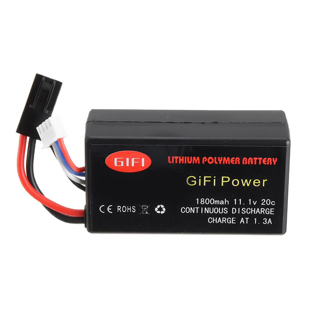 rc-quadcopter-parts GiFi Power Upgrade 11.1V 20C 1800mAh Li-po Battery for Parrot AR Drone 2.0 HOB1665379 1