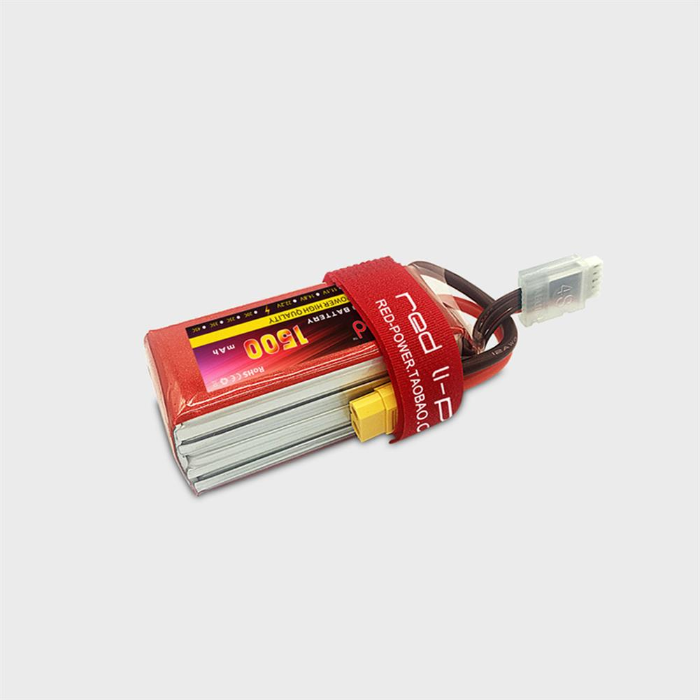 battery-charger RED Lipo 7.4V 1500mAh 2S 25C High Rate Lipo Battery XT60/T Plug for RC Airplane Fixed Wing RC Drone HOB1667450 2