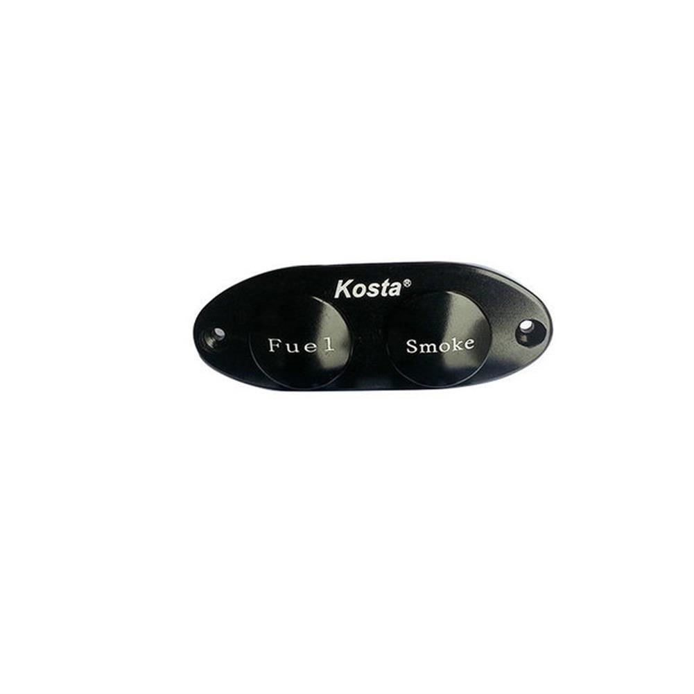 rc-airplane-parts KOSTA Heavy Duty Dual ON-OFF Power Switch w/ Fuel Dot for RC Airplane Aircraft Gasoline Engine HOB1668093