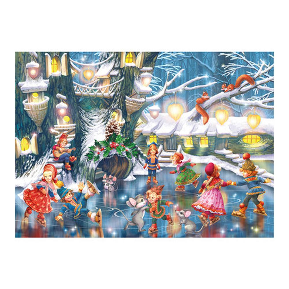 puzzle-game-toys 1000 Pieces Jigsaw Puzzle Toy DIY Assembly Paper Puzzle Painting Landscape Toy HOB1668916