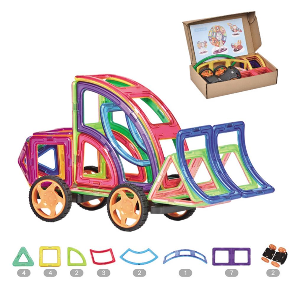 magnetic-toys 25PCS Magnetic Blocks Building Set DIY Magnetic Assembly Toys for Children's Educational HOB1668986