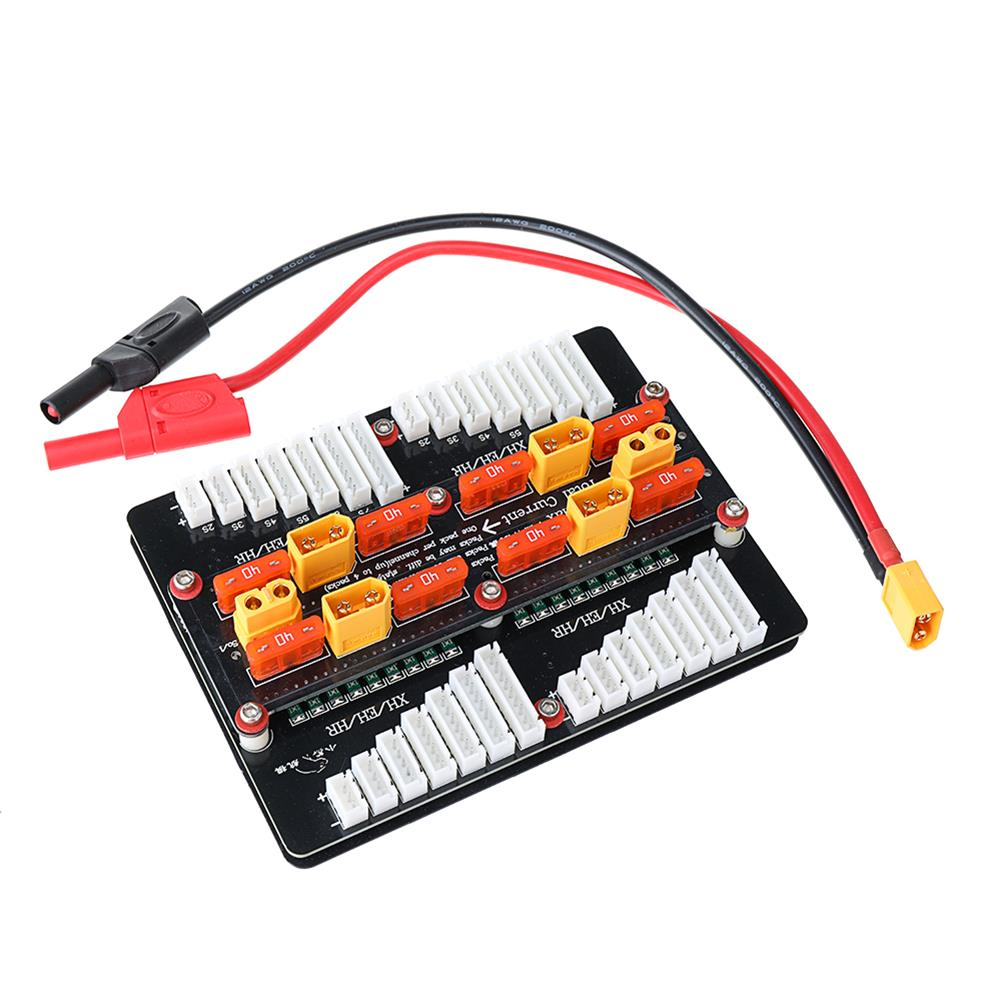 battery-charger XT60 Lipo Battery Charger Adapter Board for 2-8S PL6/PL8/0720I/1420I/X6/B6 Charger HOB1669315