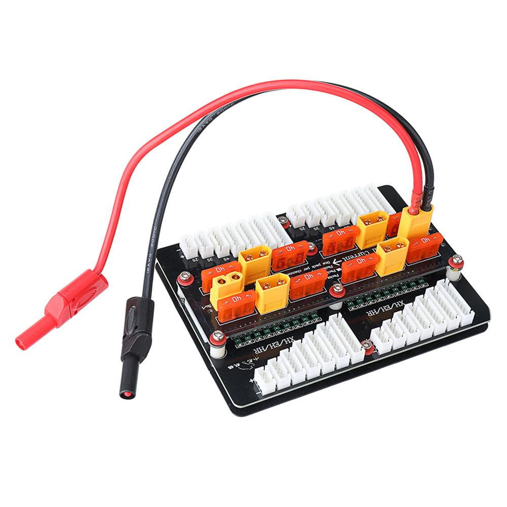 battery-charger XT60 Lipo Battery Charger Adapter Board for 2-8S PL6/PL8/0720I/1420I/X6/B6 Charger HOB1669315 1