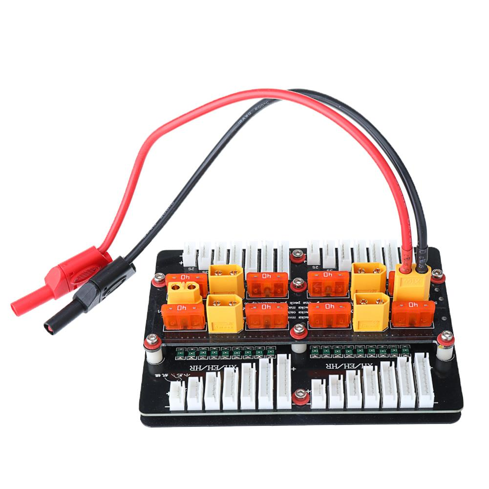 battery-charger XT60 Lipo Battery Charger Adapter Board for 2-8S PL6/PL8/0720I/1420I/X6/B6 Charger HOB1669315 2
