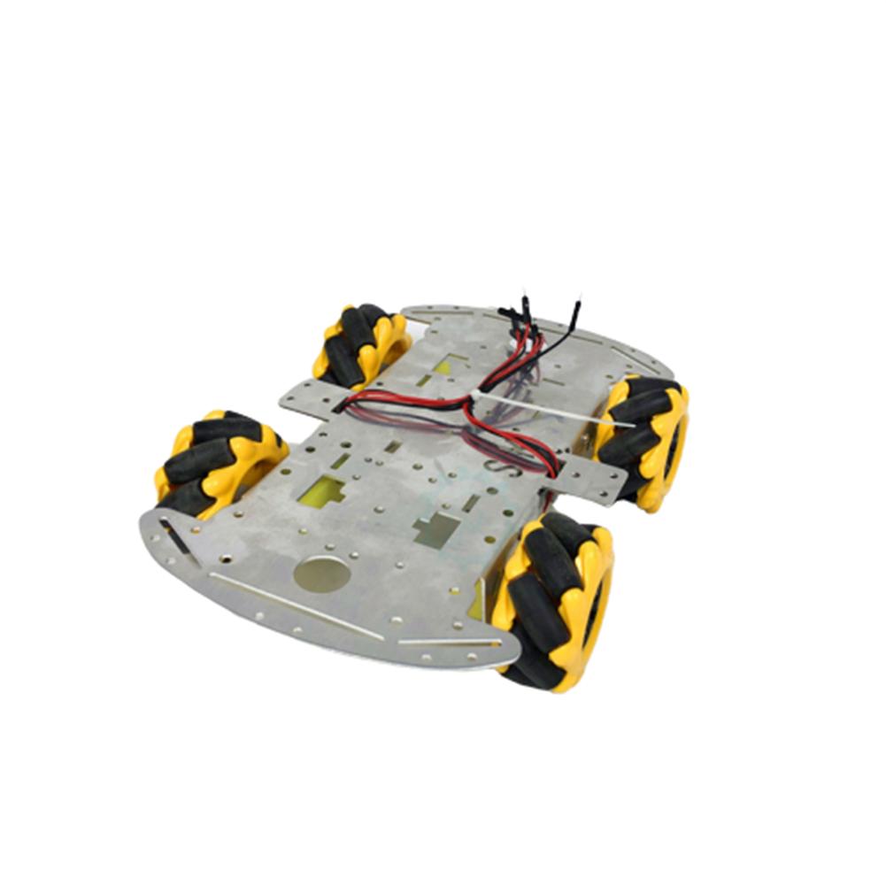 robot-parts-tools SNC380 Aluminum Alloy RC Robot Car Chassis Base with Mecanum Wheel HOB1669320 2