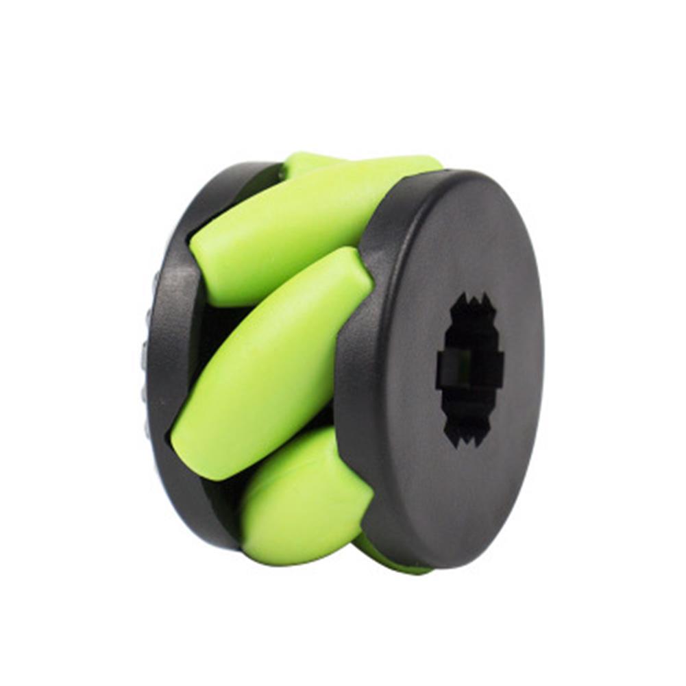 robot-parts-tools yahboom 4PCS 37mm Mecanum Wheels with Motor Shaft Coupling for Robot Car N20 Motor HOB1669345 2