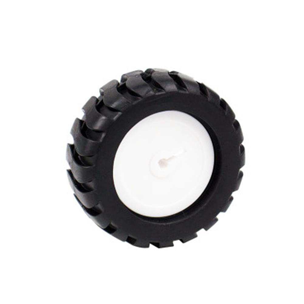 robot-parts-tools yahboom N20 Reducer Motor Small Tires D Axis 3mm RC Car Tires HOB1669348 1