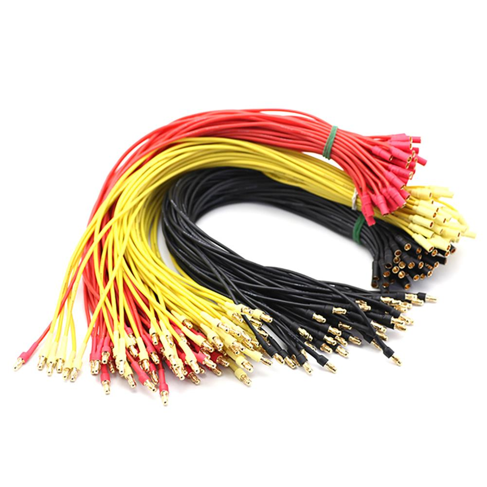 tools-bags-storage 18/30cm Gold Bullet Banana RC Brushless Motor ESC Connectors Extension Cable Wire HOB1669535
