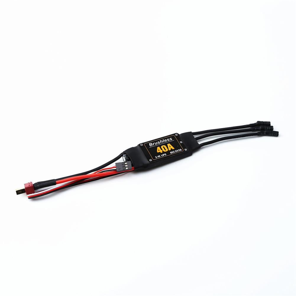 rc-airplane-parts XXD 2217 KV1250 Brushless Motor+8060 Propeller Blade*2++9g Servo*2+40A ESC RC Power System Combo for RC Airplane Racing Drone HOB1669985 3