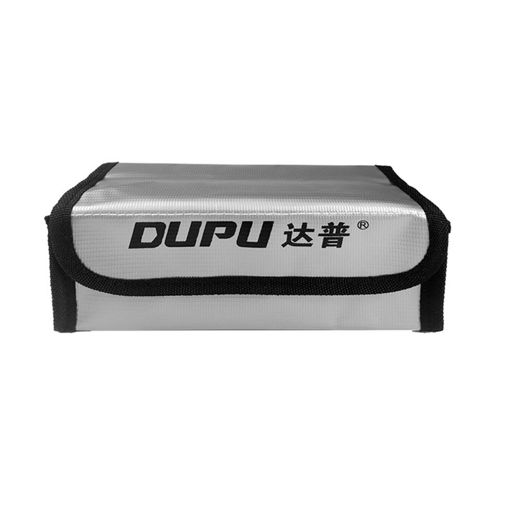 battery-charger DUPU Explosion-proof Fireproof Safe Storage Bag 70X70X180mm for RC LiPo Battery HOB1670046