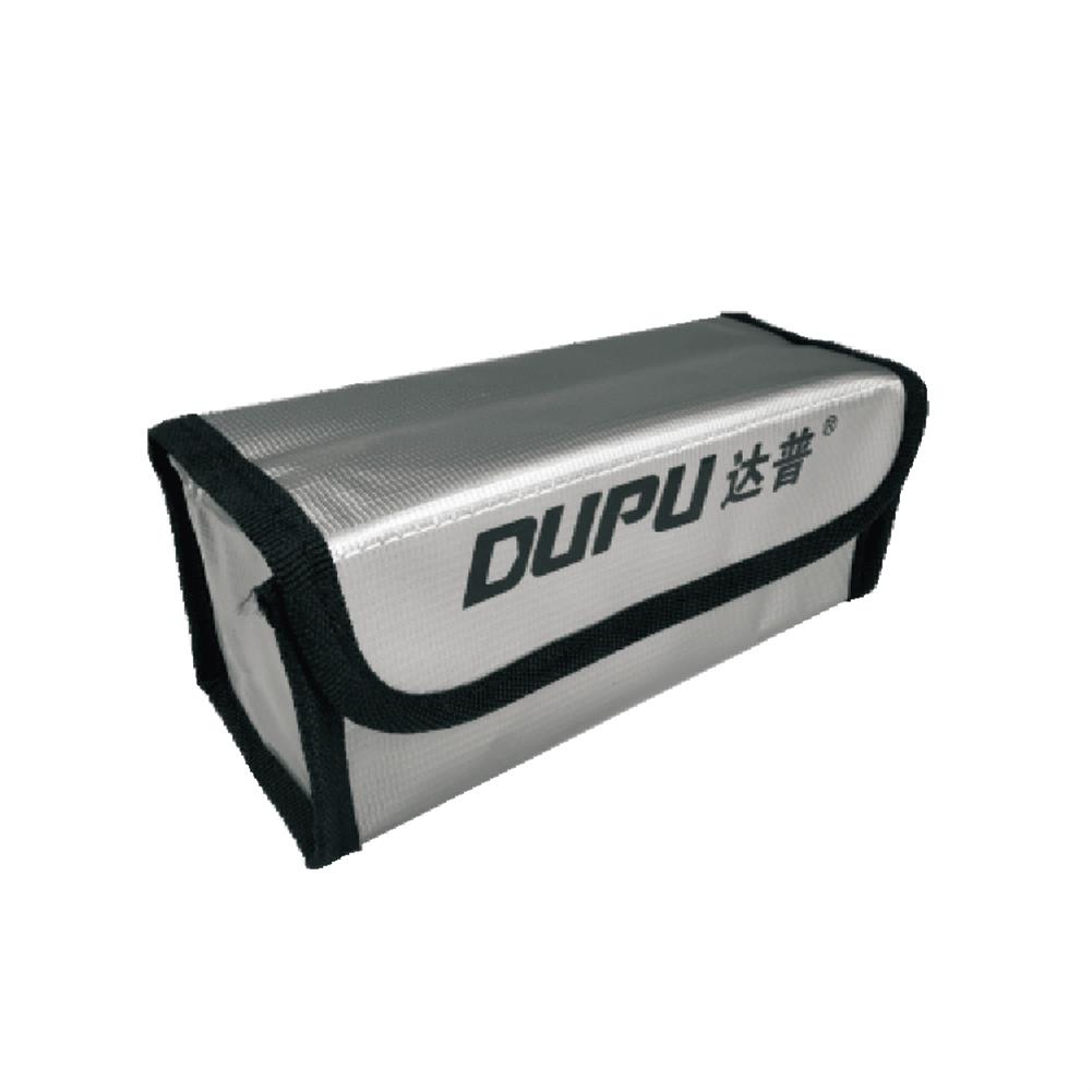 battery-charger DUPU Explosion-proof Fireproof Safe Storage Bag 70X70X180mm for RC LiPo Battery HOB1670046 2