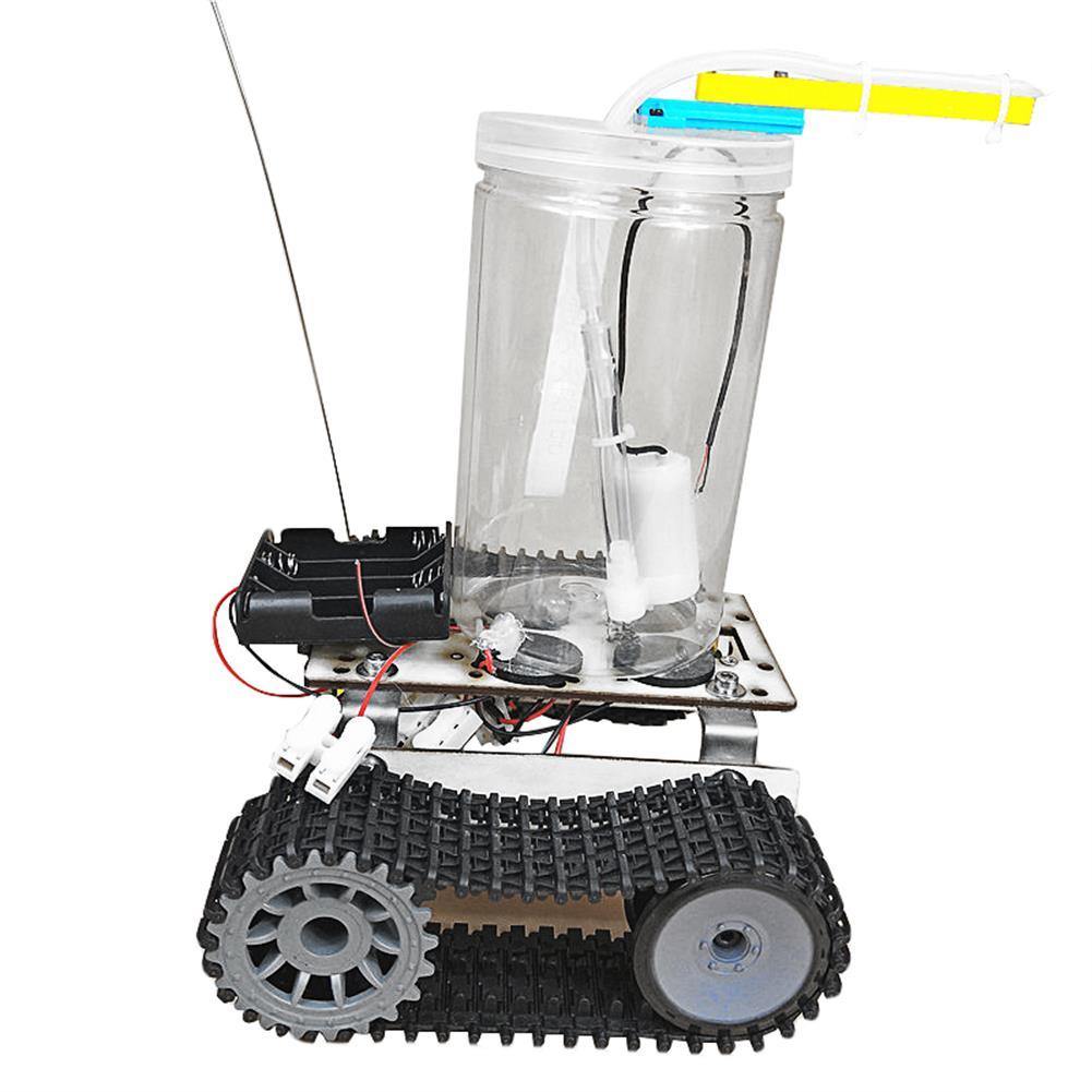 diy-education-robot SNP75 Fire Extinguishing Robot Small Production DIY Maker Assembly Kit HOB1670200