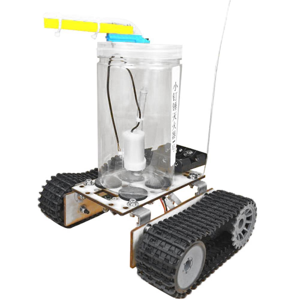 diy-education-robot SNP75 Fire Extinguishing Robot Small Production DIY Maker Assembly Kit HOB1670200 2