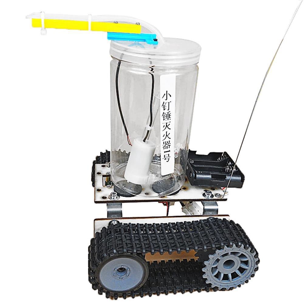 diy-education-robot SNP75 Fire Extinguishing Robot Small Production DIY Maker Assembly Kit HOB1670200 3