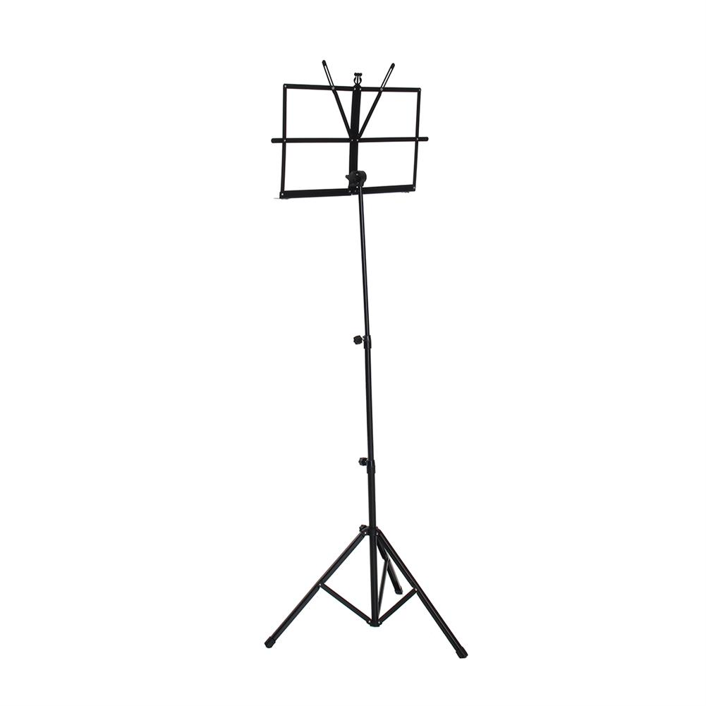 strings-accessories Adjustable Foldable Sheet Music Violin Stand Holder Tripod Base Metal with Carry Bag HOB1670304 1