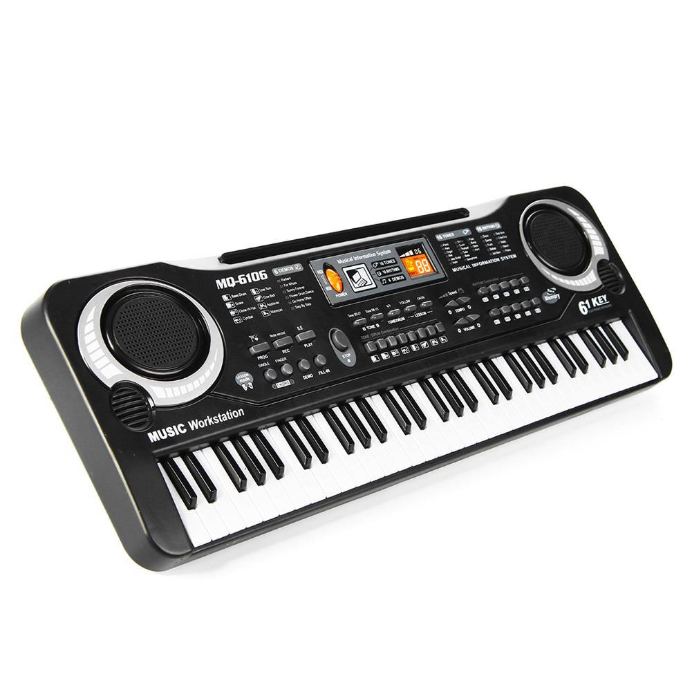 electronic-keyboards Children Kids Electronic Keyboard Electric Piano 61 Keys Musical instruments with USB + Microphone HOB1670306 2