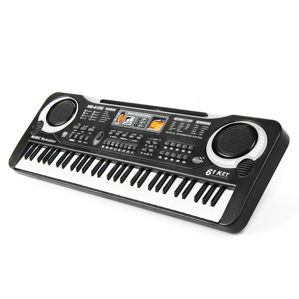 electronic-keyboards Children Kids Electronic Keyboard Electric Piano 61 Keys Musical instruments with USB + Microphone HOB1670306 3