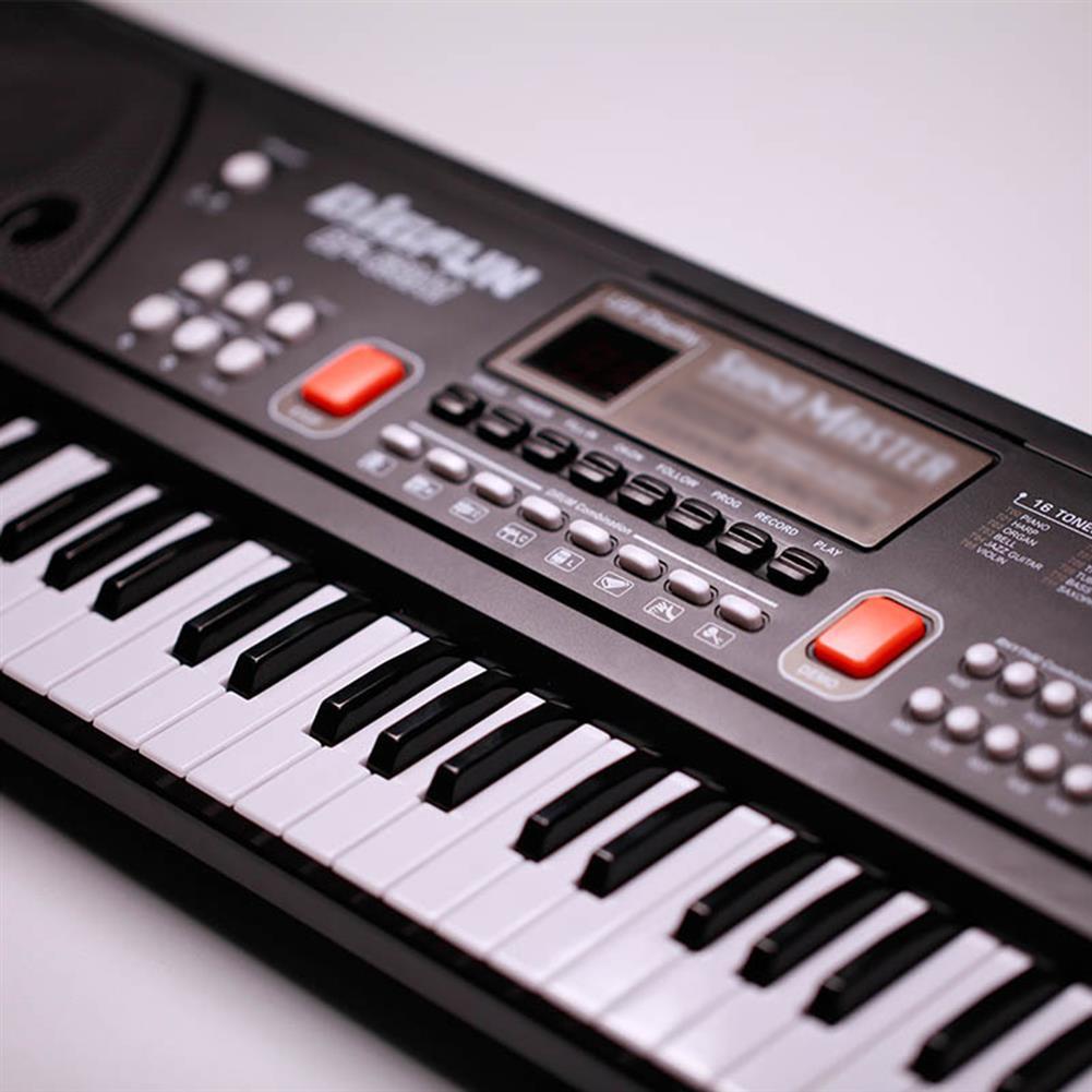 electronic-keyboards 61 Keys Mini Electronic Keyboard Piano Set Microphone Sing Gift for Kids Child HOB1670642 2