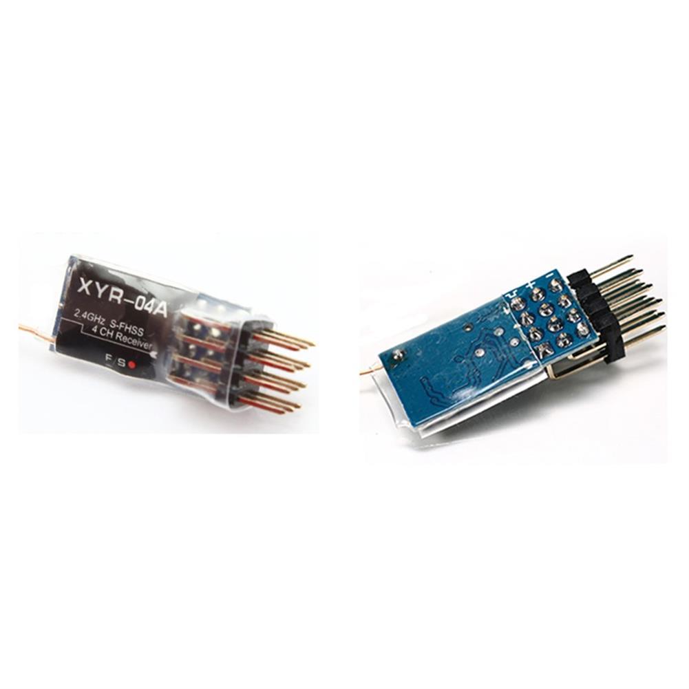 radios-receiver XYR-04A/B 2.4GHz 4CH S-FHSS Mini RC Receiver Compatible Futaba T6J/T14SG/16SZ/18SZ/18MZ Transmitter HOB1671965 2