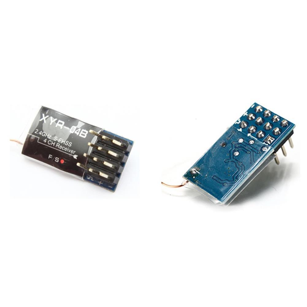 radios-receiver XYR-04A/B 2.4GHz 4CH S-FHSS Mini RC Receiver Compatible Futaba T6J/T14SG/16SZ/18SZ/18MZ Transmitter HOB1671965 3
