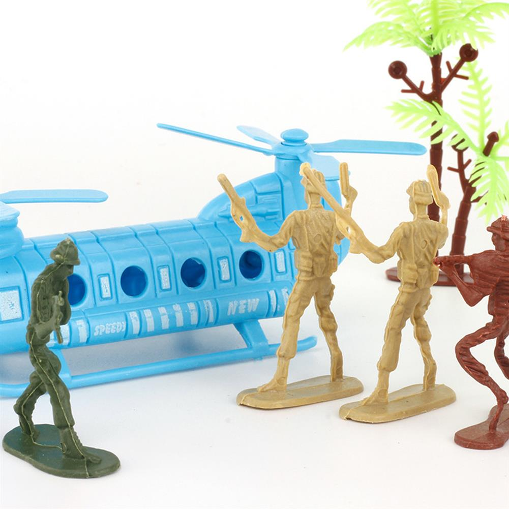 diecasts-model-toys 86Pcs PVC Military Soldier Static Diecast Model Decoration Toy Set for Kids Gift HOB1671976 1
