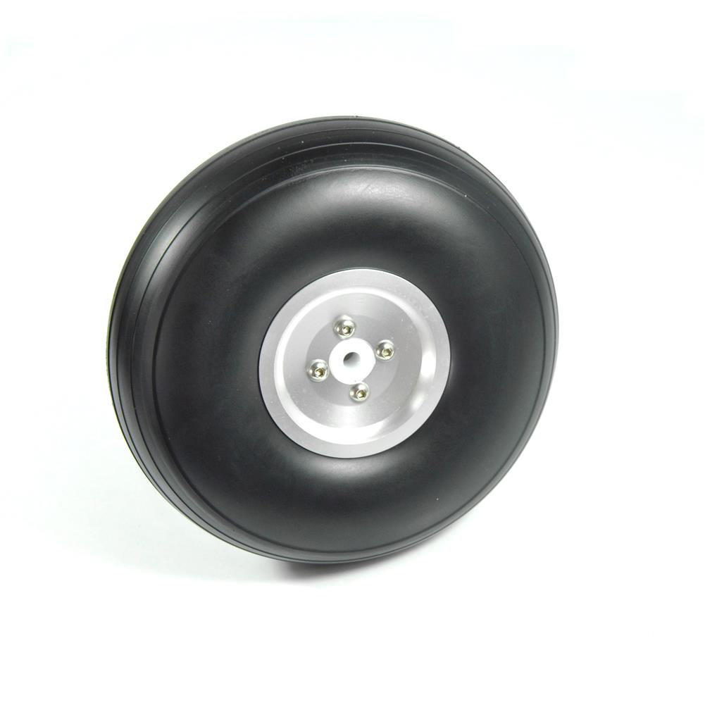rc-airplane-parts 1 PC WST Upgraded RC Wheels 4/4.5/5/5.5 inch PU Aluminum Wheel 5mm/6mm Hole for RC Airplane Drone Fixed Wing HOB1673572 1