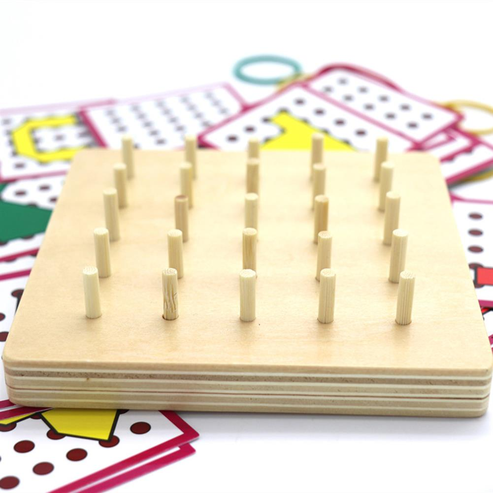puzzle-game-toys Small Size Baby Montessori Wooden Board Geometric Shapes Educational Early Learning Toys HOB1674501 2