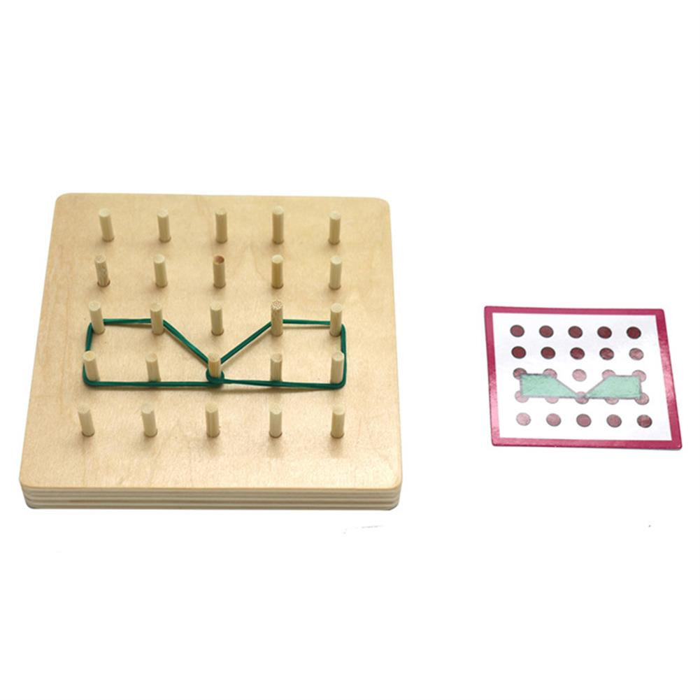 puzzle-game-toys Small Size Baby Montessori Wooden Board Geometric Shapes Educational Early Learning Toys HOB1674501 3