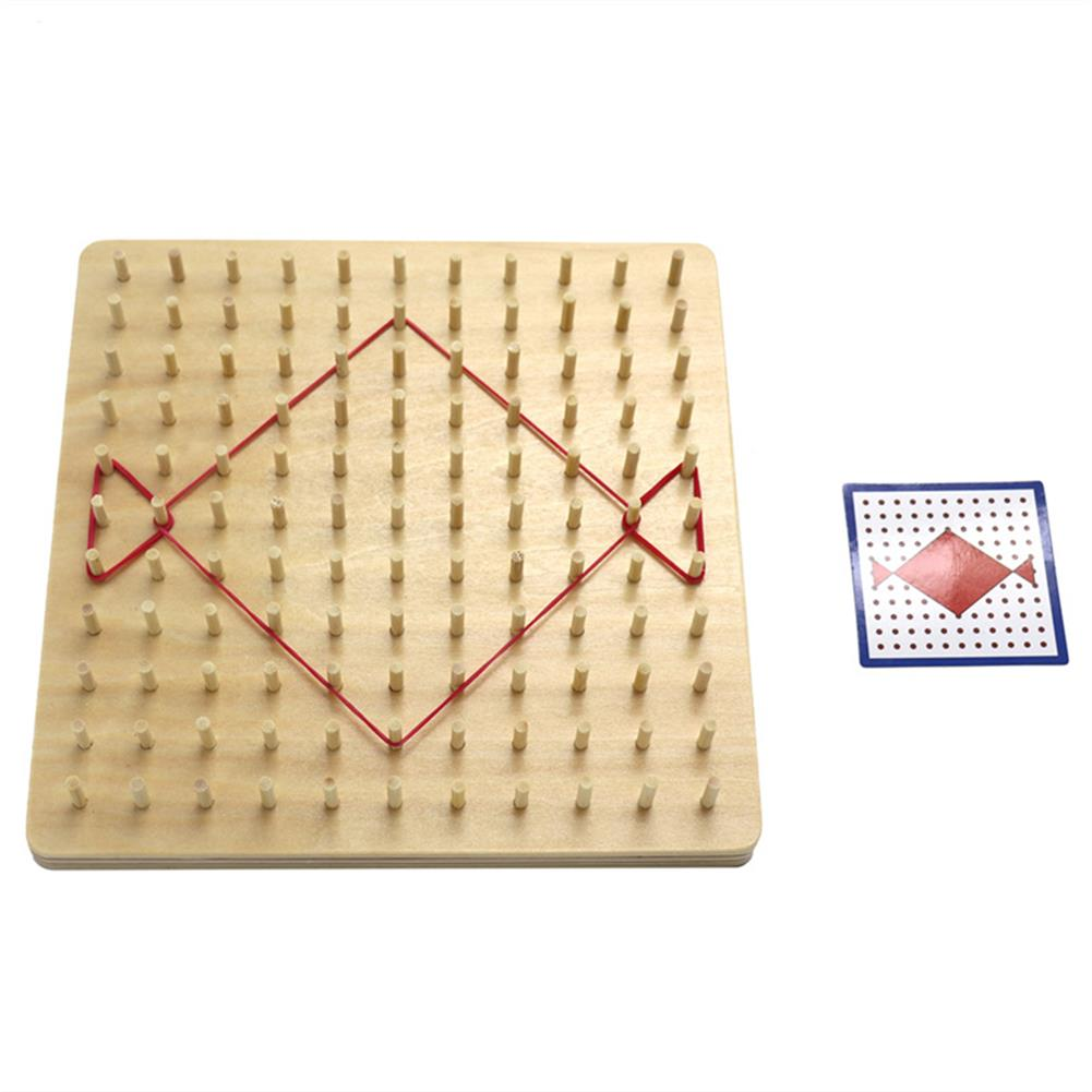 puzzle-game-toys Baby Montessori Wooden Board Geometric Shapes Educational Early Learning Toys HOB1674502 3