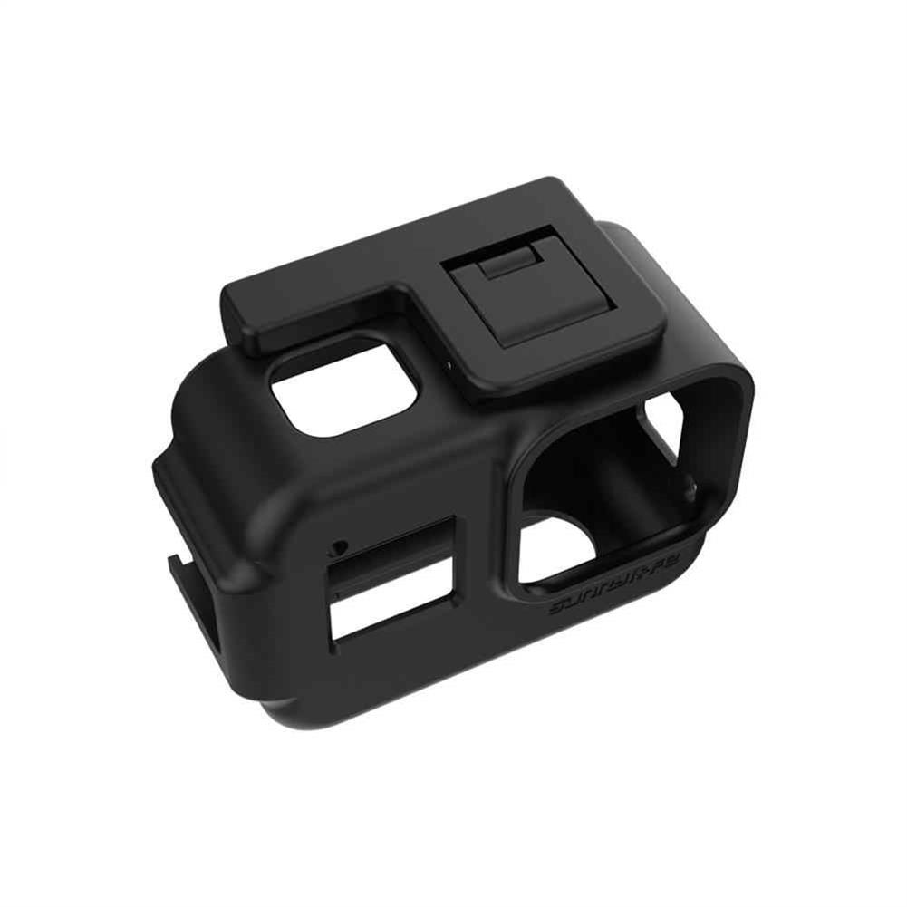fpv-system Sunnylife Protective Case Camera Mount Shock-proof Cage Precise Hole Cover with 1/4 Screw Adapter for GoPro Hero 8 Black FPV Camera HOB1674542 2