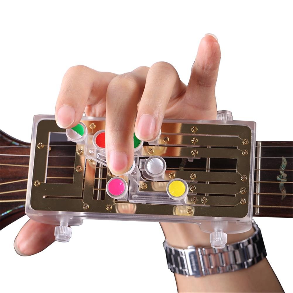 guitar-accessories Anti-Pain Finger Cots Guitar Assistant Teaching Aid Guitar Learning System Teaching Aid for Guitar Beginner HOB1674623