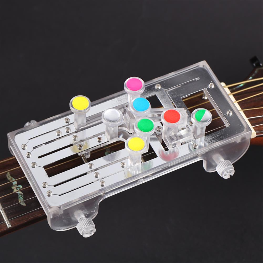 guitar-accessories Anti-Pain Finger Cots Guitar Assistant Teaching Aid Guitar Learning System Teaching Aid for Guitar Beginner HOB1674623 2