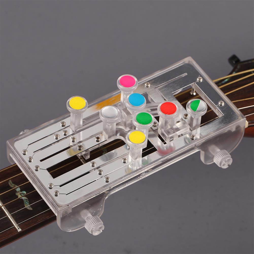 guitar-accessories Anti-Pain Finger Cots Guitar Assistant Teaching Aid Guitar Learning System Teaching Aid for Guitar Beginner HOB1674623 3