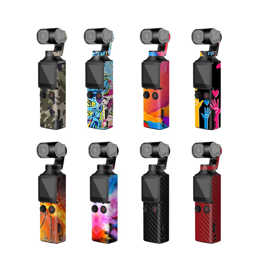 fpv-system Sunnylife PVC Decals Stickers Colorful Camouflage Skin Stickers for FIMI PALM Pocket Handheld Gimbal Camera HOB1674829 1