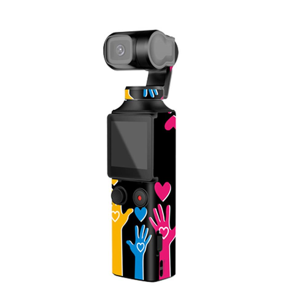 fpv-system Sunnylife PVC Decals Stickers Colorful Camouflage Skin Stickers for FIMI PALM Pocket Handheld Gimbal Camera HOB1674829 2